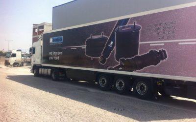 Una bellissima illustrazione per il nostro camion