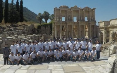 Visiting the Library of Celsus
